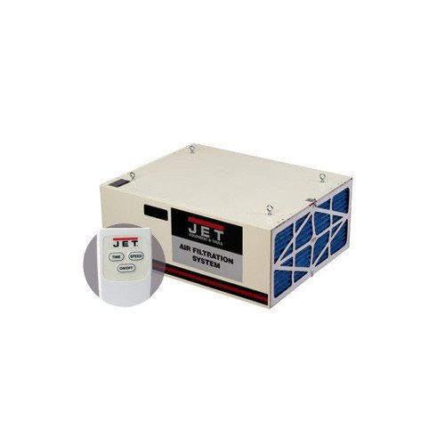 JET 708620B AFS-1000B 550/702/1044 CFM 3-Speed Air Filtration System with Remote and Electrostatic Pre-Filter ()