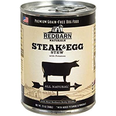 Redbarn'S Steak And Egg Stew Canned Dog Food Grain-Free, 13 Oz (12-Pack)