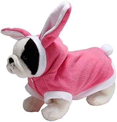 Balacoo Traje de Conejo de Perro Cosplay Ropa para Mascotas ...