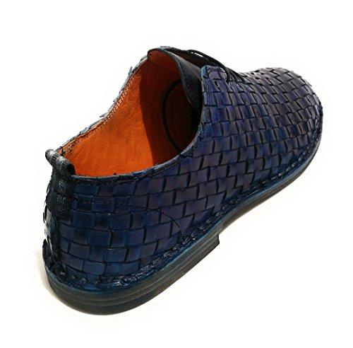 Hommes Cavallini Chaussures Richelieu À Lacets Bleu Bleu