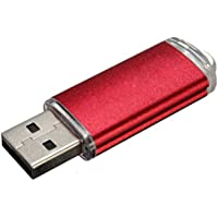 USB Flash Drive - SODIAL(R) 10 x 16GB USB Stick 2.0 memory stick data Stick red