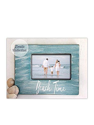 Amazon.com: Beach Picture Frame, Beach Decor, Painted: Handmade