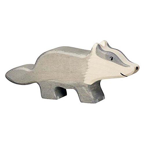 Holztiger Badger Toy Figure
