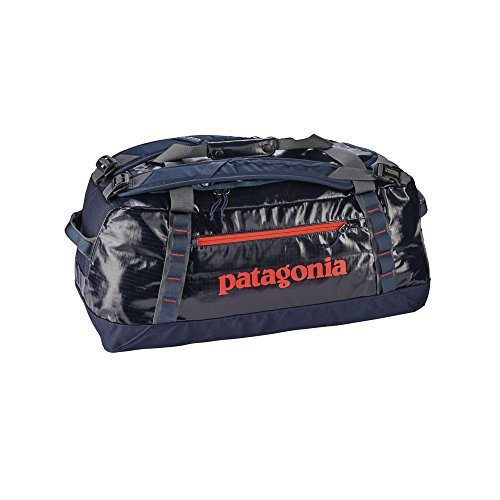 Patagonia Black Hole Duffel 60L (Navy Blue w/Paintbrush Red)