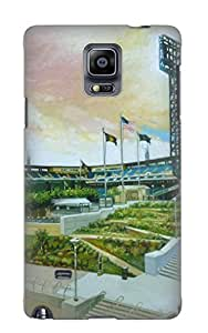 New Premium Storydnrmue Pnc Park Pittsburgh Pirates Skin Case Cover Design Ellent Fitted For Galaxy Note 4 For Lovers