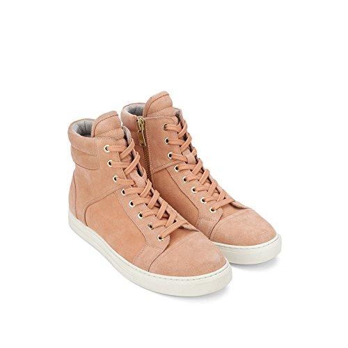 Kenneth Cole New York Dubbel Header High-top Mocka Sneaker - Mens Persika