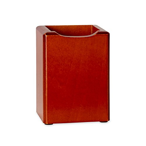 Rolodex WoodTones Pencil Cup Holder (23380) Rolodex Construction Pencil