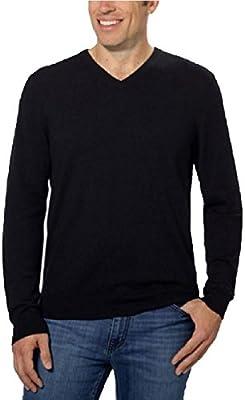 Calvin Klein Lifestyle Extra Fine Merino Wool V-Neck Sweater
