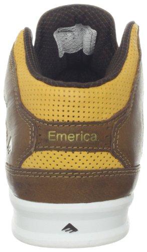 Emerica THE REYNOLDS LX 6102000085 - Zapatillas para hombre marrón - Marron (Brown/Tan/Brown 275)
