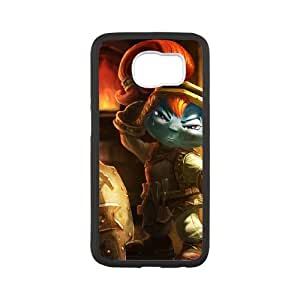 Samsung Galaxy S6 Cell Phone Case White League of Legends Blacksmith Poppy Thahf