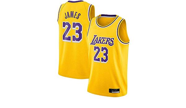 Los Lakers #23 - Camiseta de baloncesto para hombre, color ...