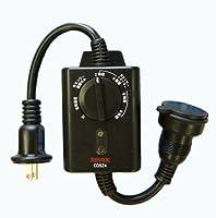 光センサー付 タイマーコンセント CDS24