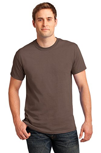 Gildan Men's Ultra Cotton Crewneck T-Shirt, Chestnut, X-Large (Chestnut Mens Shirt)