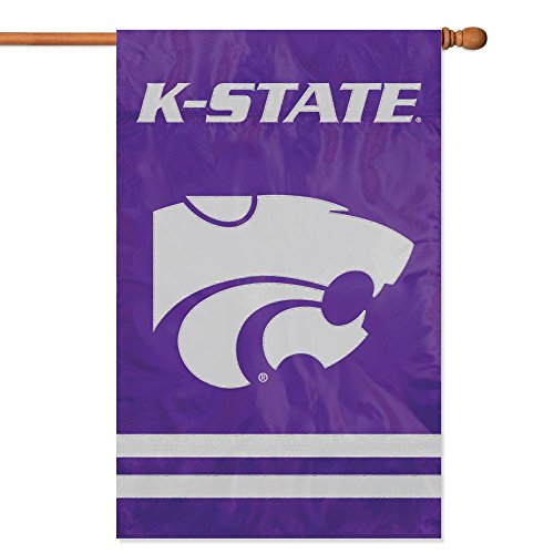 - Party Animal Kansas State Wildcats Banner College Flag