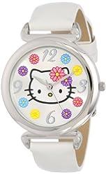 Sanrio Hello Kitty Women's HKAQ5372 Analog Display Analog Quartz White Watch