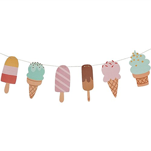 ice cream party decor - 2