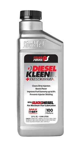 (Power Service 03025-12-12PK +Cetane Boost Diesel Kleen Fuel Additive - 32 oz, (Case of 12))