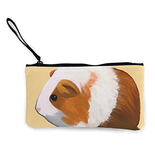 Canvas Coin Purse Hamster Cosmetic Makeup Storage Wallet Clutch Purse Pencil ()