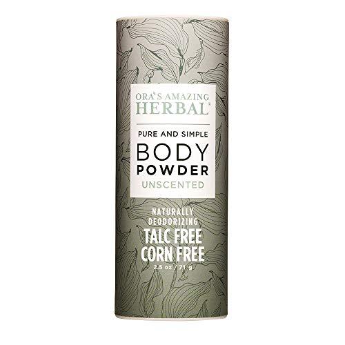 Fragrance Free Body Powder, Scent Free Powder, Cornstarch and Talc Free Powder, Unscented Talcum Powder, After Waxing…
