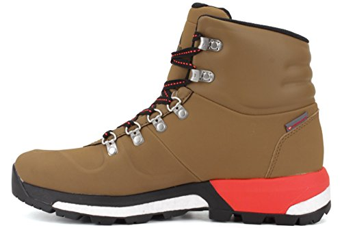 Adidas Mens Boost Urban Hiker Cw Boot Oro Ocra / Rosso Solare / Nero