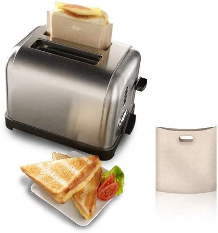 Amazon.com: Toastabags reutilizable Bolsas para sándwiches o ...