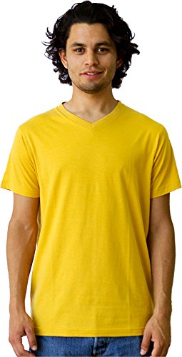 - Rushmore Organic Cotton Poly Blend T Shirt - Goldenrod 3XL