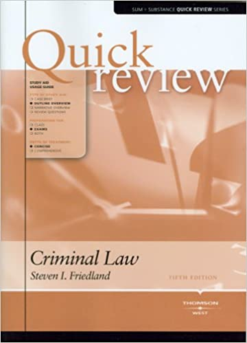 pay for criminal law book review