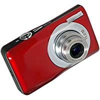 Webat Mini Digital Compact Camera 2.7 inch TFT LCD HD Compact Digital Camera with 8 x Digital Zoom - Red