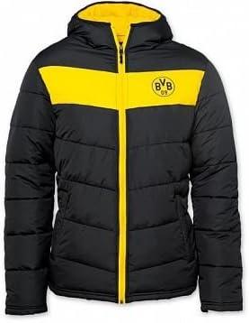 BVB BORUSSIA DORTMUND giacca invernale da uomo (Nero Giallo) GR ...