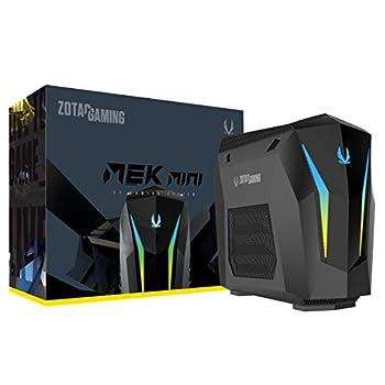 Image of ZOTAC Gaming Mek Mini Gaming PC, GeForce RTX 2070 Super 8GB GDDR6, 8-Core Intel Core i7-9700, 16GB DDR4/240GB Nvme SSD/2TB HDD/Windows 10 System, GM207SC7R1B-U-W2B Gaming Mice
