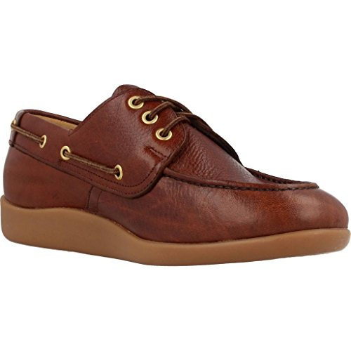 Sebago Gary Jobson Leather Tumbled, Mocasines Para Hombre marrón