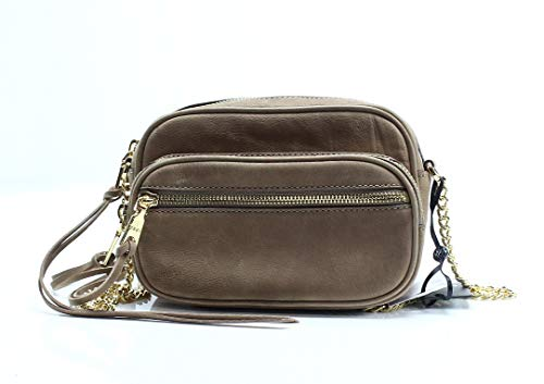 DKNY Shanna Suede Small Crossbody Camera Bag
