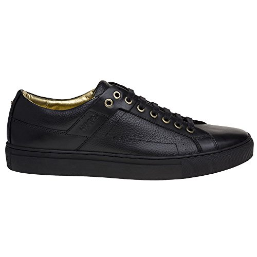 Hugo Futurism Tenn Heren Sneakers Zwart Zwart