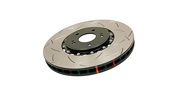52314BLKS 5000 Series 2-Piece Slotted Disc Brake Rotor DBA Front