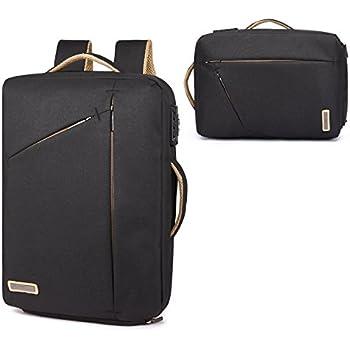 GOHIGH Convertible Laptop Backpack Multi Functional Travel Rucksack Water Resistant Knapsack Work School College Backpacks for men and women, ...