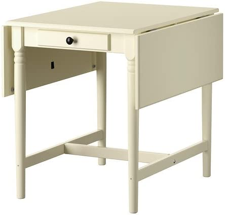 Ikea Ingatorp Table Abattant Blanc 59 88 117x78 Cm Amazon Fr Cuisine Maison