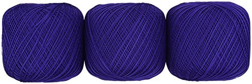 Lace thread GOLD SPECIAL # 40 Col.335 Blue series 50 g 445 m 3 ball set by Olempus made cord