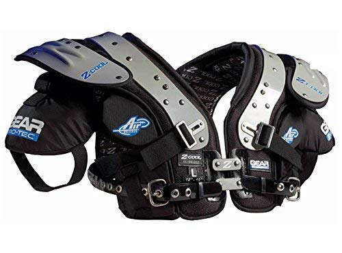 (Gear Pro-Tec Z-Cool OL/DL-Pro Select Football Shoulder Pads,)