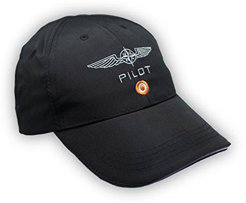 bis microfibra XXL Pilot negro negro Talla M Caps 7Xqw51