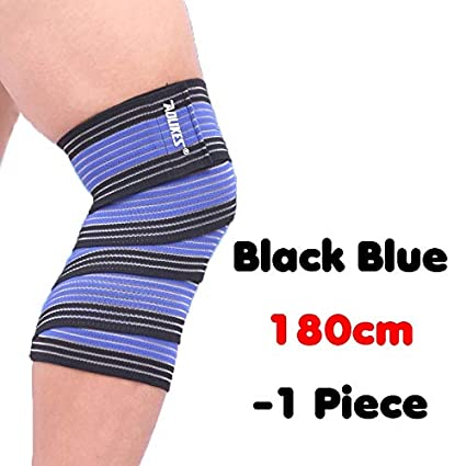 High Elastic Bandage Knee Support Pad Warm Running Outdoor Sports Leggings Kneepad Anti-Sprain Medical Protective Gear 1 Piece Team Sports Protective Gear