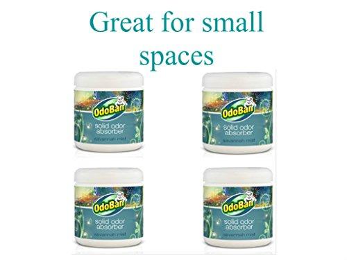 (OdoBan 14 oz. Savannah Mist Solid Odor Absorber Eliminator 4-Pack)