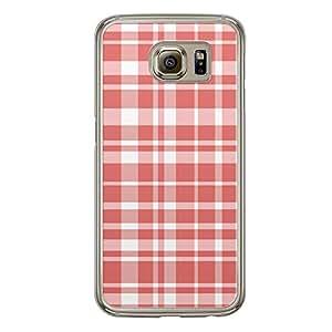 Loud Universe Samsung Galaxy S6 Love Valentine Printing Files A Valentine 75 Transparent Edge Case - Red/White