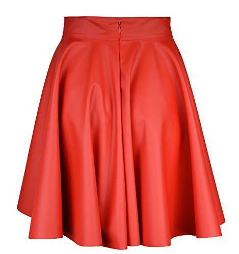 Femme Trapze Rot midi Roban Jupe Fashion q6TyaTvH7R