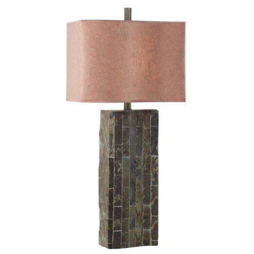 Kenroy Home Ripple Slate Table (Ripple Table Lamp 1 Light)