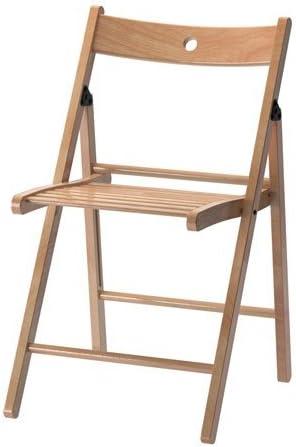 Ikea TERJE 'Folding Chair Folding Chair Solid Beech Wood