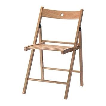 Ikea Klappstuhl Terje Zusammenklappbarer Stuhl Aus Massiver Buche