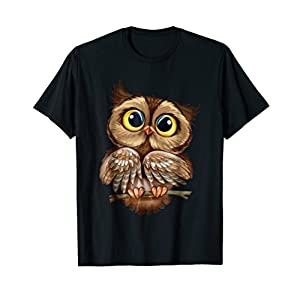 Owl Cute Owl Shirt For Women Girls