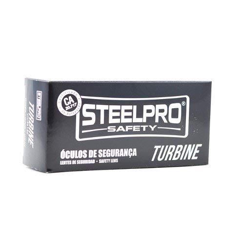 dae32e06ff73e Óculos de Segurança - Turbine com Lente Incolor-STEEL PRO-656358   Amazon.com.br  Ferramentas e Construção