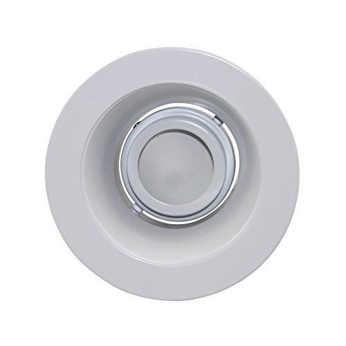 (Capri Lighting P4Lr White Reflector White Flange 4