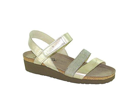 Silver Rivets Leather Beige Gold Footwear Women's with Krista Satin Naot Uw8F7zxq